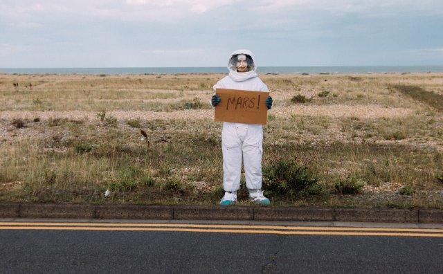 Musk chce wysłać ludzi na Marsa