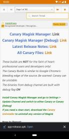 Instal Canary Magisk Manager 2