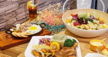 [高雄巨蛋美食]現食EAT NOW-平價唯美溫馨早午餐!料超澎湃的炒意麵