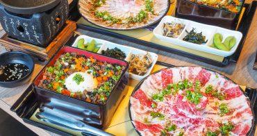 [高雄夢時代美食]大丼燒-超大燒肉盤VS.半熟蛋海鮮丼飯~每口都是大大滿足