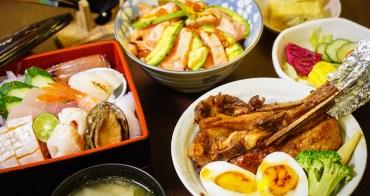 [高雄]戶谷川和食處-必吃豪華海鮮盒x法式豬排丼~高雄美術館區最新鮮日式丼飯