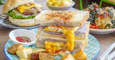 [高雄早午餐推薦]尋早早餐-芋頭控失心瘋的療芋三明治x鳳山巷弄文青老屋