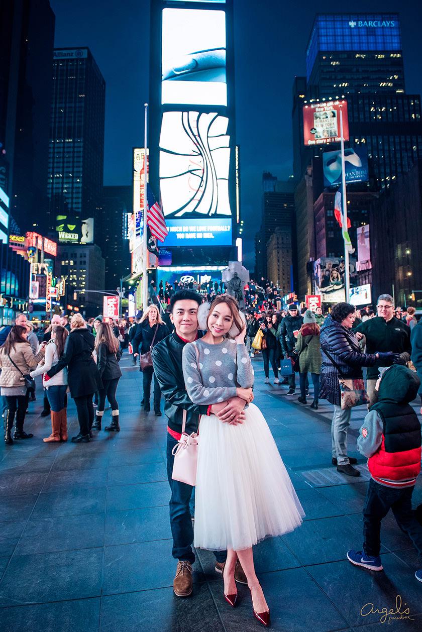 【紐約】Time Square紐約時代廣場&獅子王百老匯~五光十色的不夜城 - ANGEL's PARADISE安啾的遊樂場