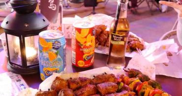 【台中美食】激旨燒鳥(逢甲店)。逢甲夜市排隊美食~包麻糬 橘子 蘋果的創意串燒!你絕對想像不到的新奇美味