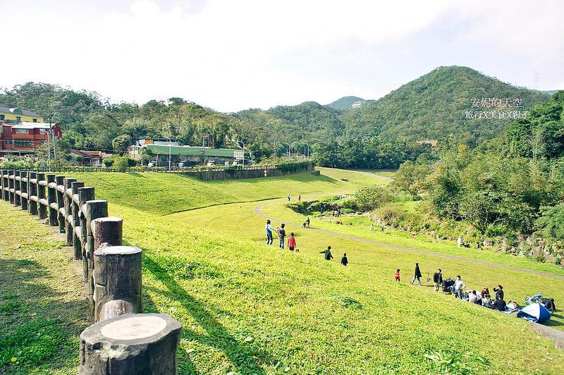 [臺北內湖景點 ]大溝溪親水公園自然步道 野餐健行聖地 - 安妮的天空