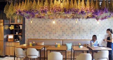 [樹林早午餐]Niko Niko Cafe' 乾燥花 超大花牆 一次給你滿滿少女心  鄰近三峽北大特區美食