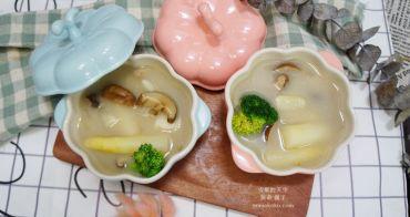 【食譜】宸鳴白蘆筍料理-白蘆筍蛋捲。白蘆筍肉片捲。白蘆筍馬鈴薯蘑菇濃湯。白蘆筍海鮮番茄麵~簡單好料理的美味家庭常備菜!!