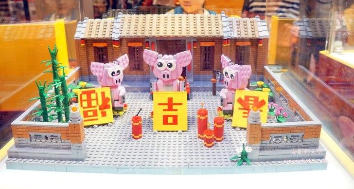 20190119182339 56 - 巨大版樂高車站出現在台北  還有樂高電影院 樂高新年城等你一起來圍爐 統一時代百貨二樓