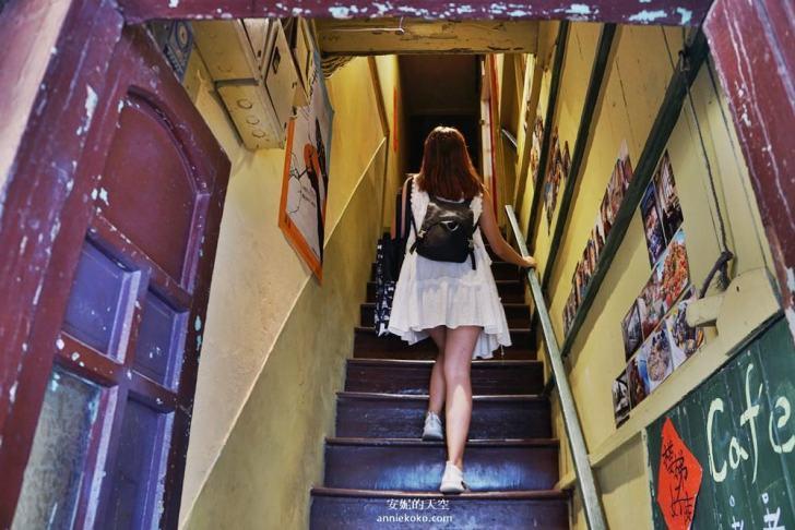 20190528153744 8 - [大稻埕 樓梯好陡steepstairs] 城市裡的二樓咖啡館 乘載著舊時光的老屋 內有萌系店犬陳英俊