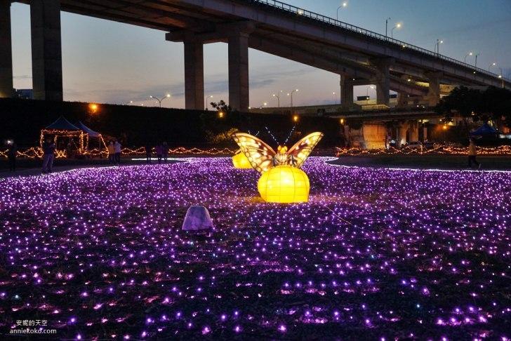 20200415141647 5 - [板橋蝴蝶公園 2020新北河濱蝶戀季]是精靈降落的夢幻境地吧 新北最美光雕地景藝術