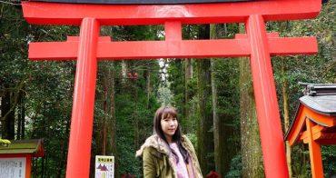 【日本】必訪景點箱根神社 水中鳥居好美 ♥ 搭箱根登山巴士離開