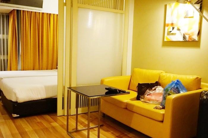 【泰國】曼谷平價住宿推薦♥馨樂庭素坤逸16巷飯店 有廚房客廳近T21跟按摩