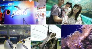 【澳洲自由行】雪梨必去親子景點推薦 ♥ 雪梨水族館 SEA LIFE Sydney Aquarium