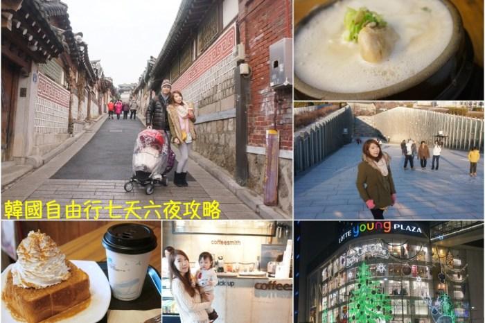 【2020韓國自由行】首爾自由行七天六夜 ♥ 美食景點推薦+行程攻略懶人包