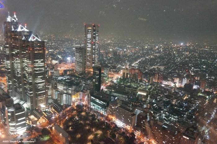 【東京自由行】東京景點、東京夜景推薦 ♥ 新宿督廳夜景 新宿夜生活好去處
