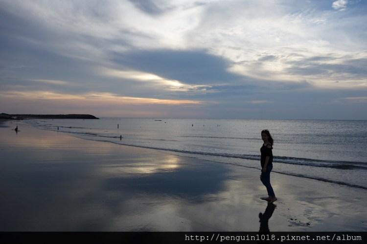 肉粽角沙灘 | 彰化線西景點,外拍婚紗推薦地點,欣賞夕陽西下動人美景。