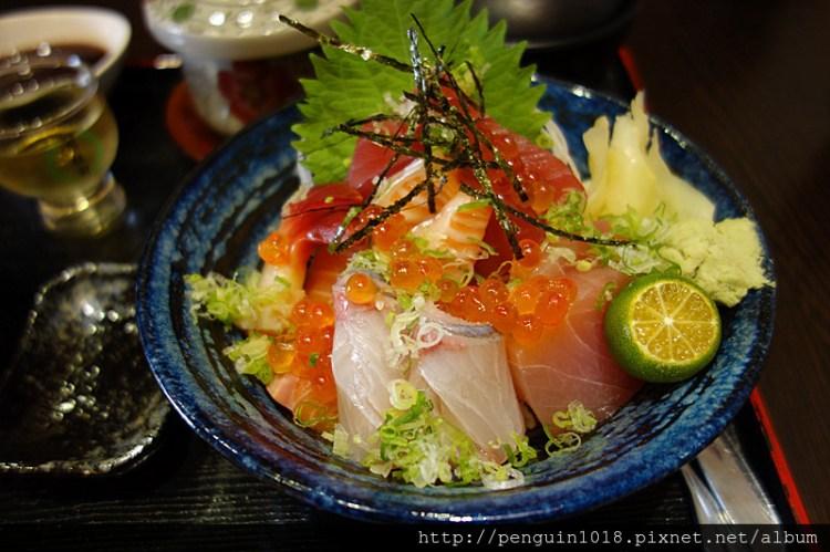 【台中西屯】神川日式料理;超豪華又實惠的生魚片丼飯!這一碗看的出師傅滿滿的心意~!(愛評網口碑卷)