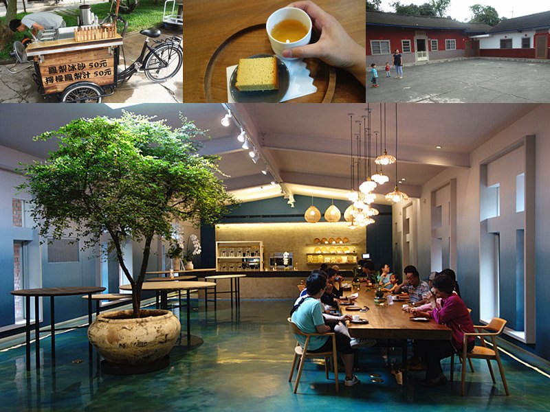 微熱山丘 | 南投139縣道最知名人潮聚集景點!清新高雅內用區,藍綠色清涼感內用區。