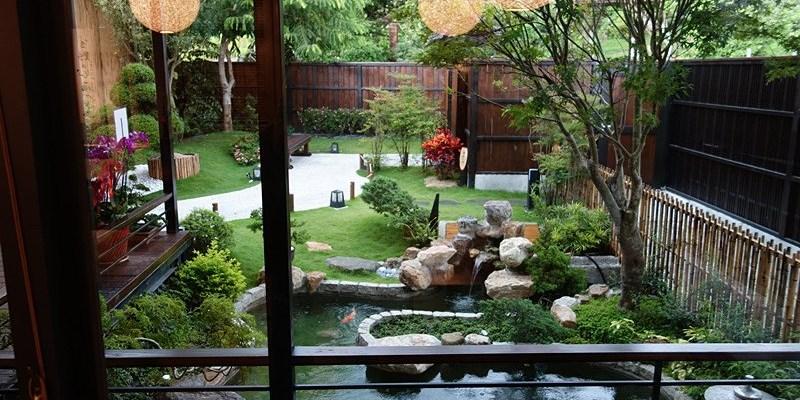 員林合掌喫茶食事處 | 彷彿進入京都一樣,享受日式茶道之美,超美日式建築就落在員林百果山。
