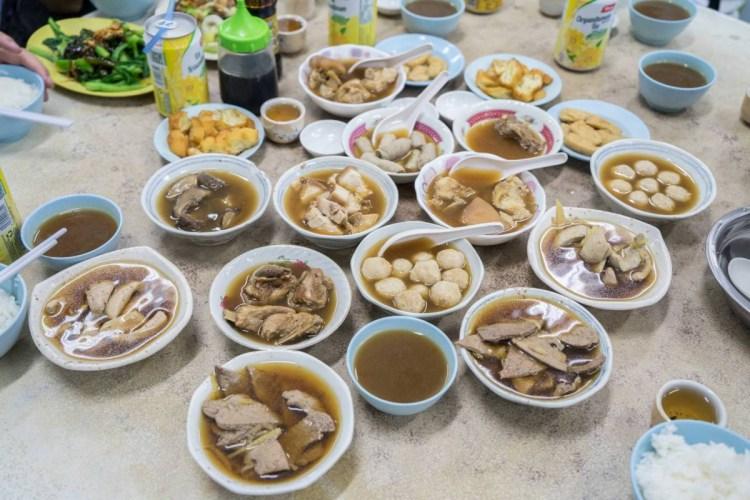 馬來西亞沙巴美食佑記肉骨茶   馬來西亞旅遊必吃美食,肉骨茶全餐!一起大快朵頤!