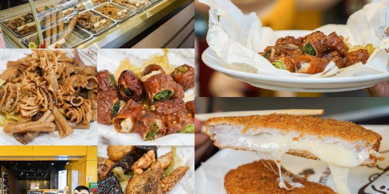 健美先生激炸滷味   台中一中街私房美味小吃,先滷後炸口感讓人越吃越上癮!食尚玩家跟旅行應援團推薦。