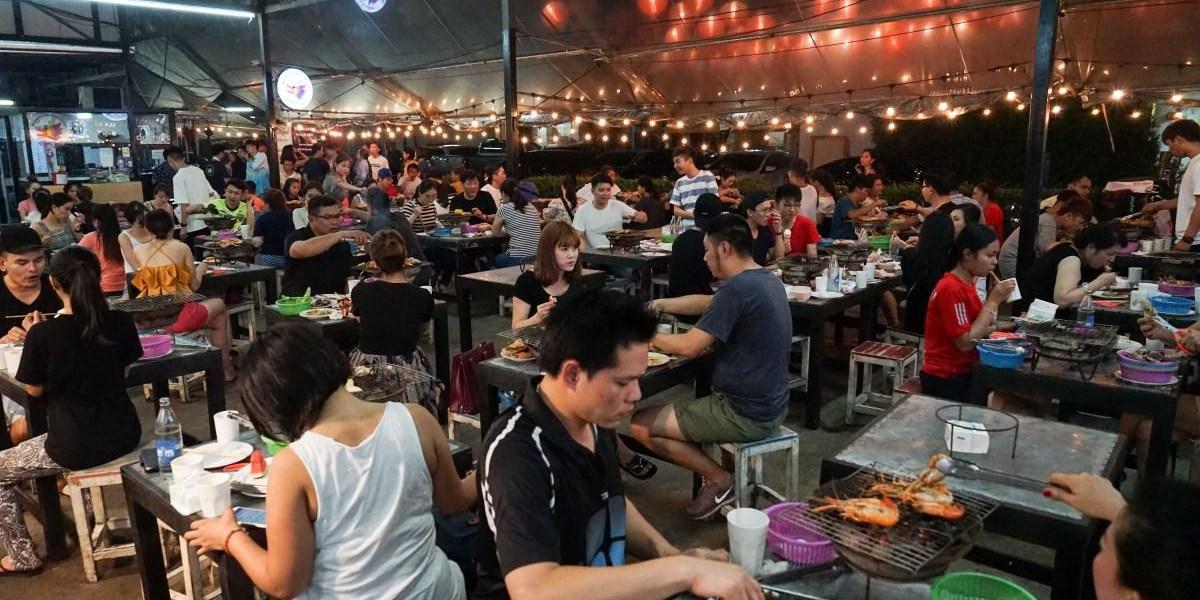 曼谷泰國蝦吃到飽推薦   Mangkorn Seafood吃到飽499元,到曼谷旅遊不吃個海鮮吃到飽好像跟不上潮流...