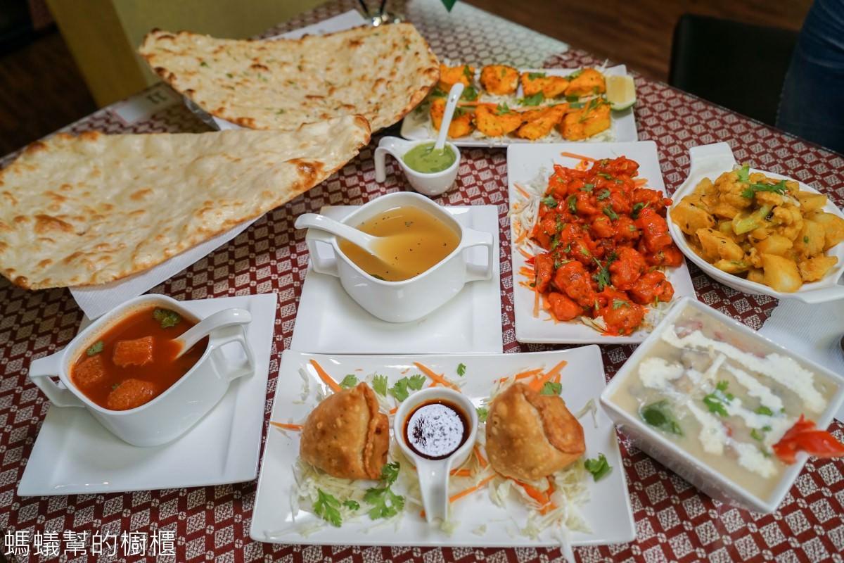 斯里印度餐廳Sree India Palace | 台中道地印度料理推薦,印度主廚家鄉菜,推薦必吃烤餅、咖哩,來場異國風味之旅。