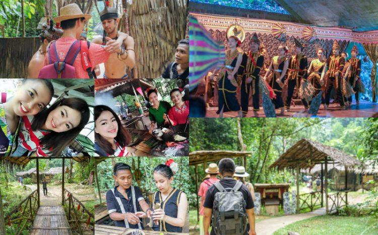 沙巴旅遊馬里馬里文化村Mari-Mari cultural village   沙巴自由行必訪的原住民村,有吃又有得玩!毛律獵人頭族,體驗馬來原住民文化。