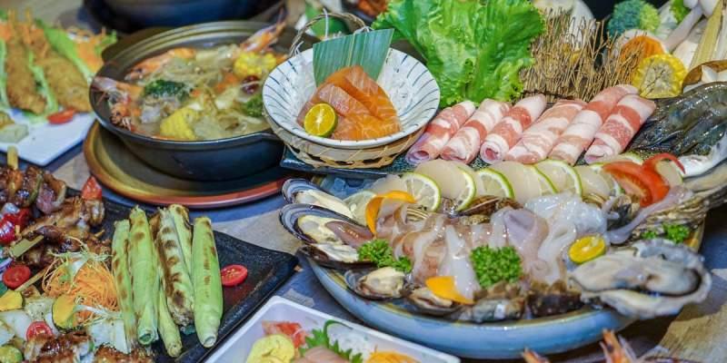 彰化市浩克海鮮炭烤酒吧 | 時髦酒吧蘊藏美味海鮮料理!現撈海鮮、創意餐點,適合聚餐小酌。
