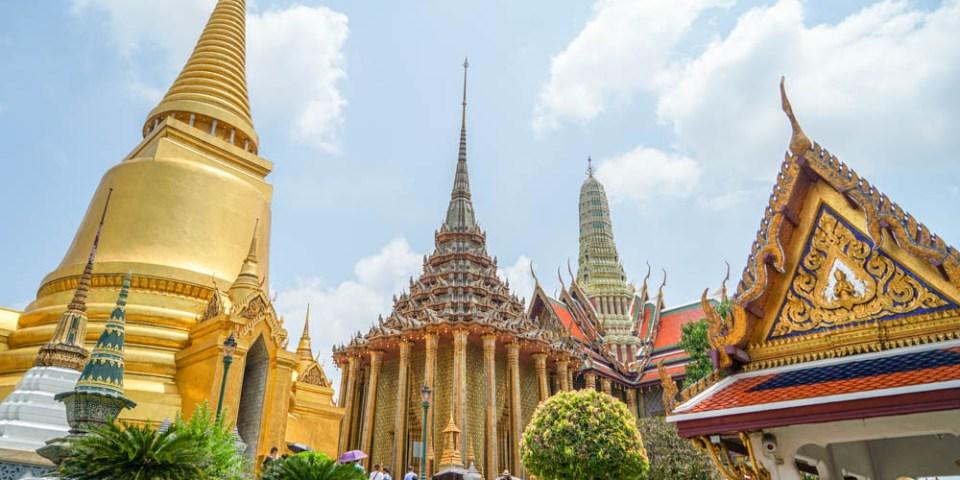 泰國曼谷大皇宮Grand Palace | 曼谷自由行景點推薦,搭船水上交通、票價、注意事項。