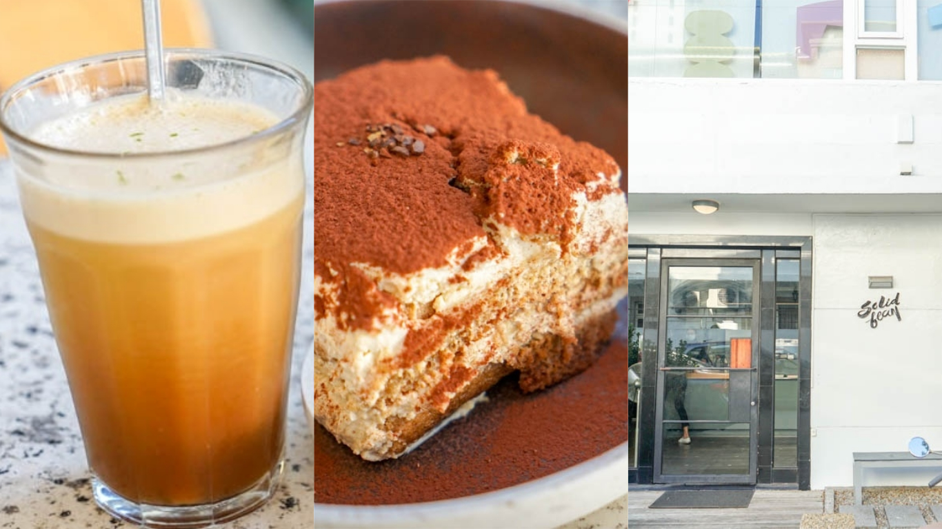 solidbean coffee roasters硬豆咖啡   台中西區精明商圈咖啡館,近忠明國小站,巷子裡白色建築咖啡館。