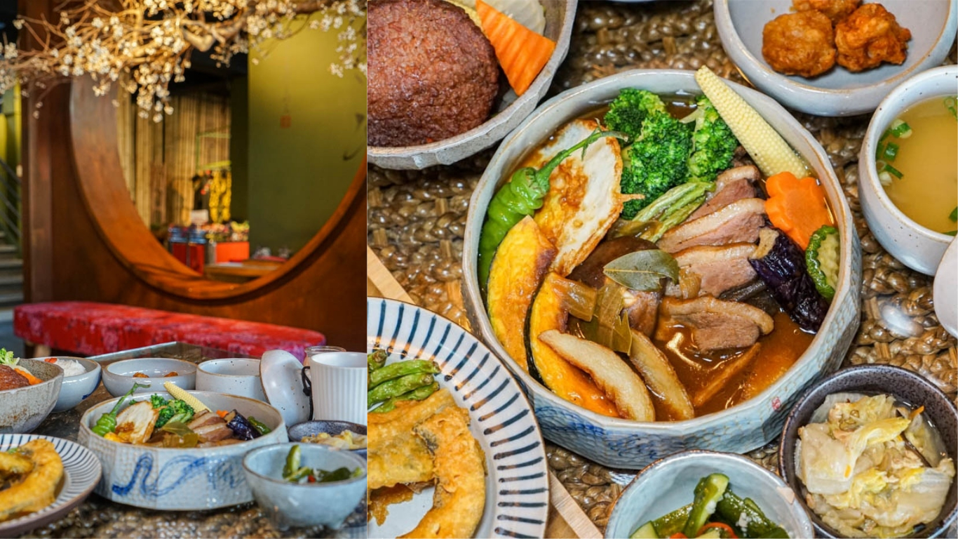 金雲堂人文茶館 | 自家調配辛香料,醇厚湯咖哩,中國風典雅用餐環境,員林大同路美食推薦。