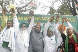 Do not vote bjp in west bengal elections rakesh tikait