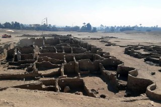 3000 Year Old Lost Golden City Unearthed In Egypt