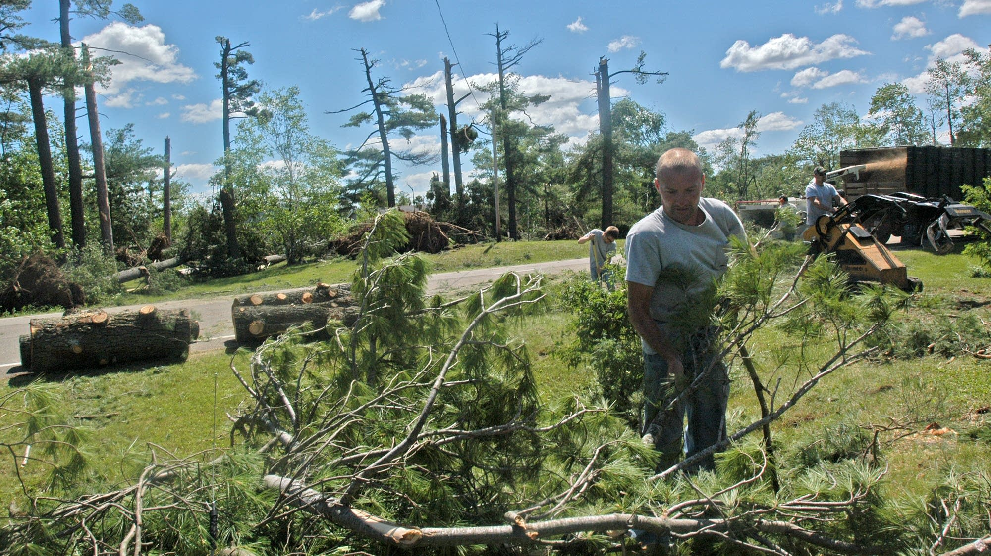 Storm kills 1 camper in Boundary Waters others hurt  MPR