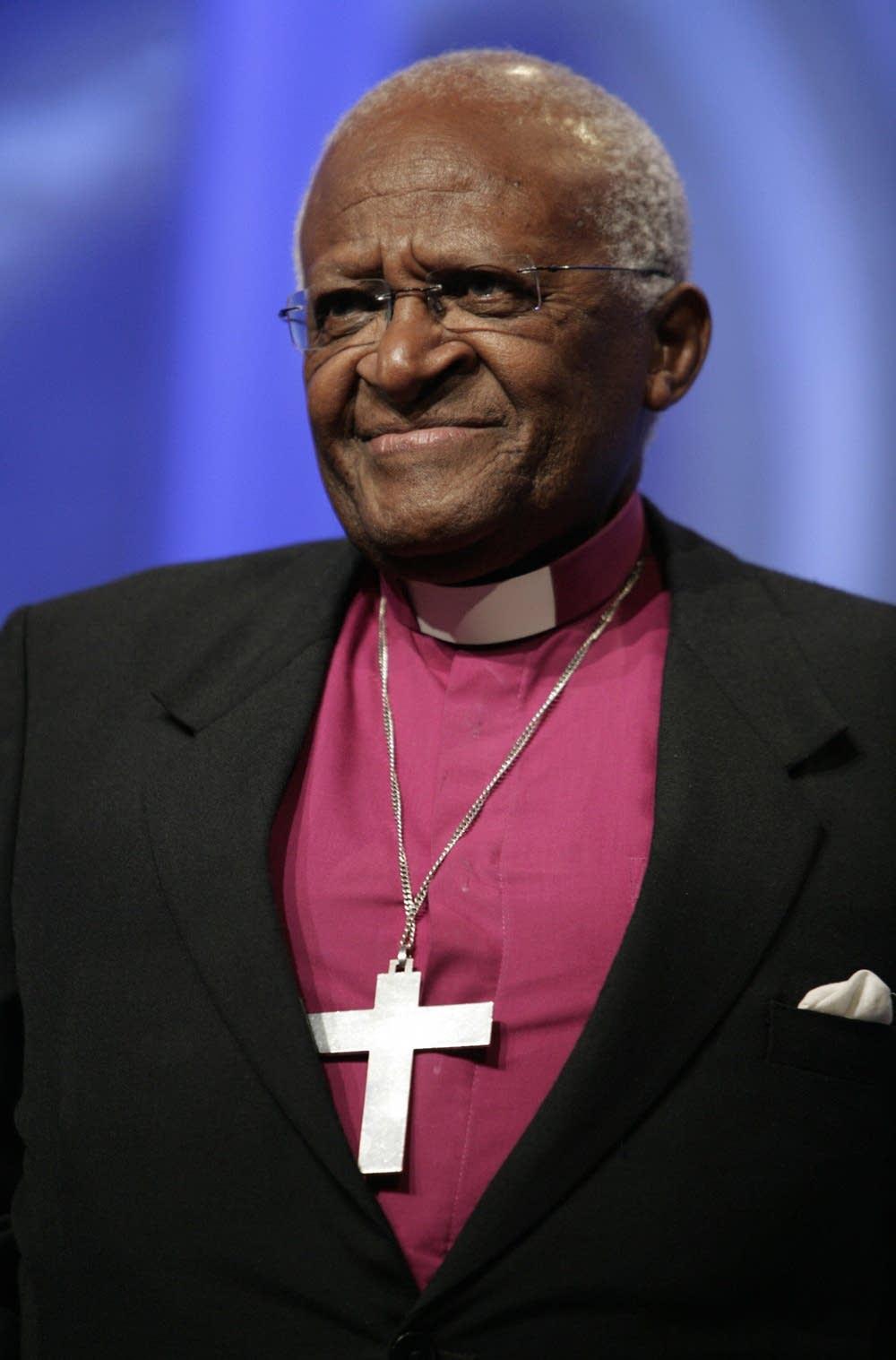 University of St Thomas says no to Desmond Tutu  MPR News