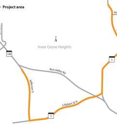 road tripper s guide to 2018 construction season for minnesota s twin cities region mpr news [ 2000 x 2000 Pixel ]