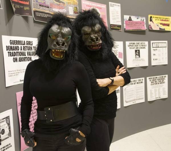 Kathe Kollwitz Guerrilla Girls