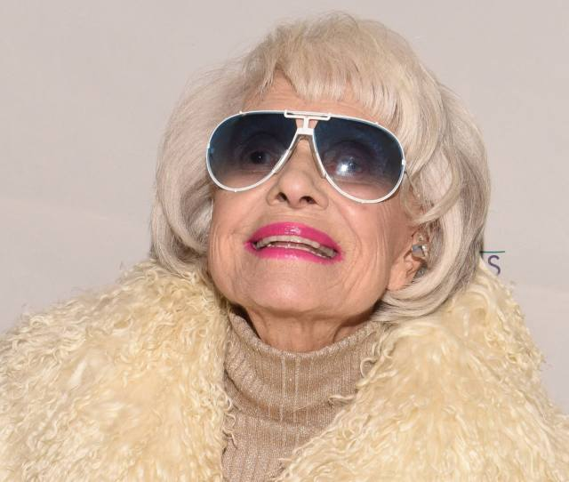 Carol Channing In Palm Springs