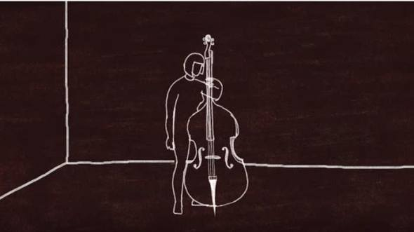 Animated cellist