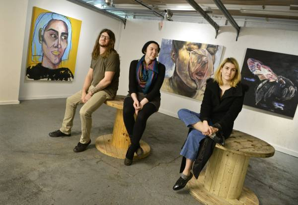 In Garage Art Students Create Space Minnesota Public Radio