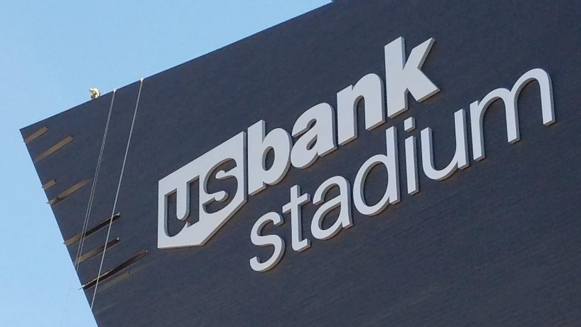 Storm knocks Vikings stadium exterior panels loose  MPR News