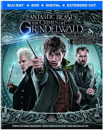 Fantastic Beasts The Crimes Of Grindelwald Les Animaux Fantastiques Les Crimes De Grindelwald Blu Ray Dvd