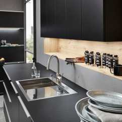 Kitchen Wood Countertops Aid 5 Speed Blender 木质厨房台面 厨房 黑色 Soft Lack Artwood Nolte Kuechen