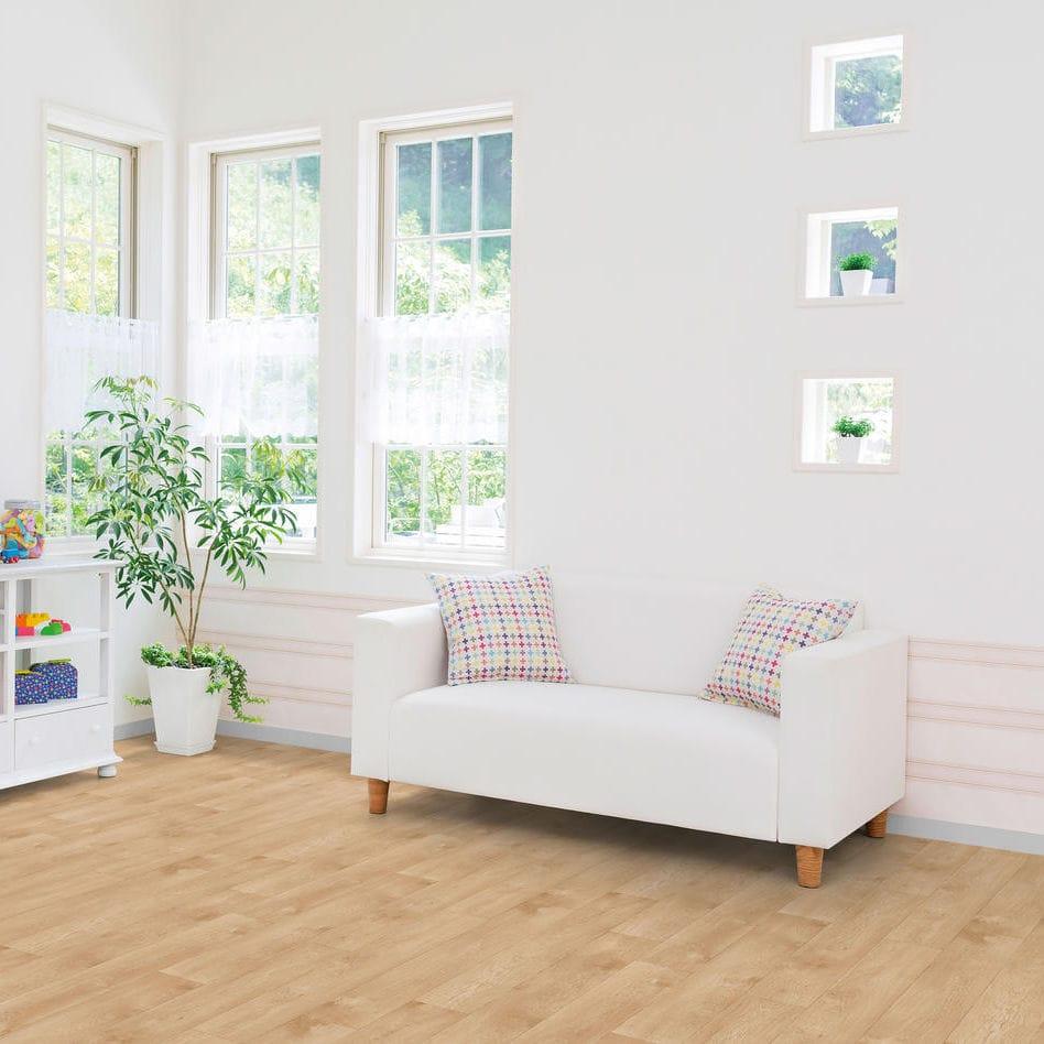 kitchen vinyl floor tiles hickory cabinets 乙烯基地面 住宅 卷式 磨砂 essentials 260 tarkett
