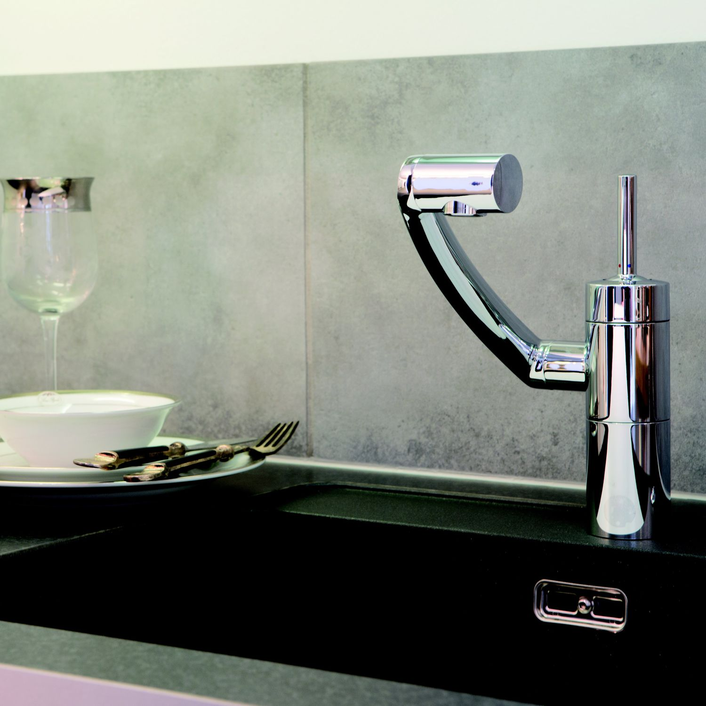 faucet kitchen sink cover 镀铬调温水龙头 厨房 单孔 2900000 by jakob jensen damixa
