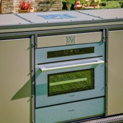 Outdoor Kitchen Modules Knoxville Cabinets 户外厨房 现代风格 钢 铝制 Linear Samuele Mazza By Dfn Srl 视频