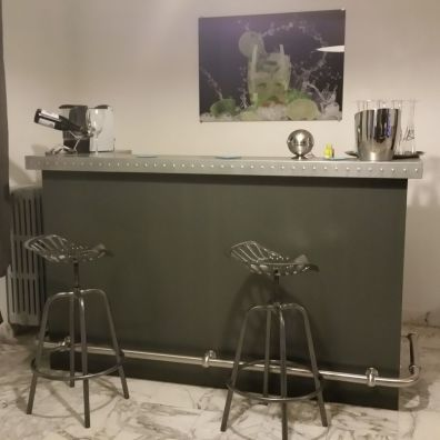 kitchen counter lowes delta faucet 厨房柜台 直线型 pommard misterzinc