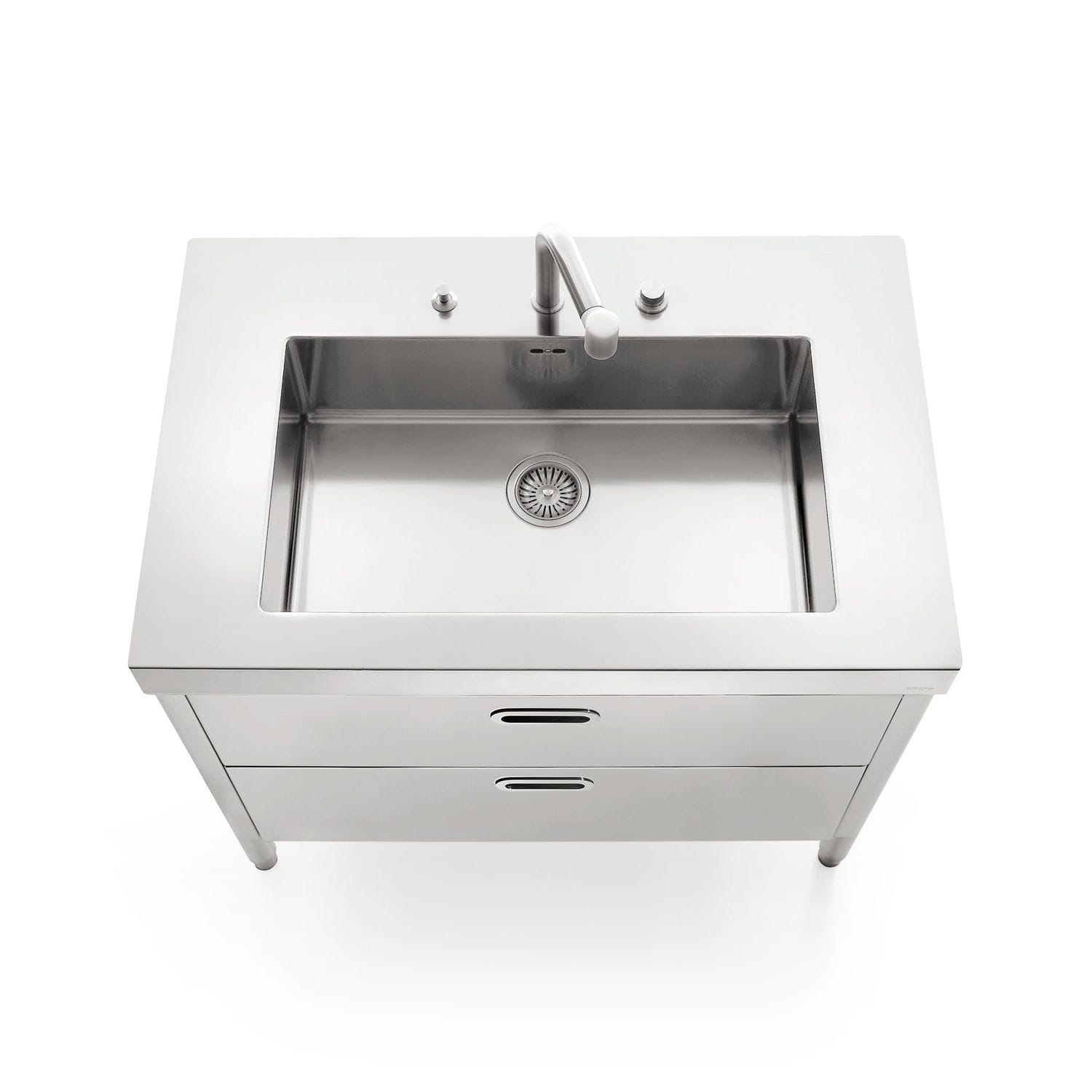 stainless kitchen sinks gray tile 不锈钢厨房水槽柜 不锈钢 用于花园 2c 100 by nico moretto alpes inox