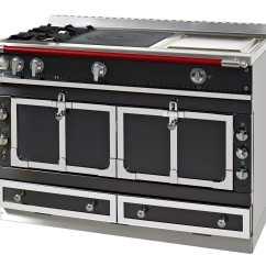 Electric Kitchen Stove Cabinet Brands Reviews 燃气厨房灶具 电动 混合型 不锈钢 Le Chateau 120 La Cornue